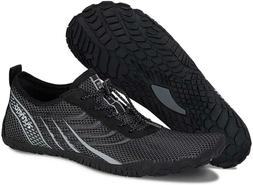 WateLves Mens and Womens Water Shoes | Barefoot Trail Runner