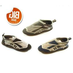 Mens Aqua Shoe Water Shoes Big Sizes 13 14 Exercise Beach Po
