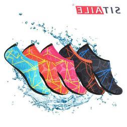 SITAILE Mens Aqua Water Shoes Swim Surf Yoga Sports Neoprene