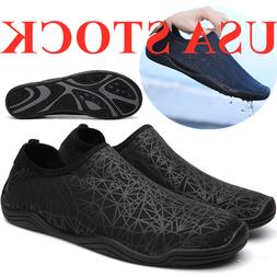 Mens Barefoot/Minimalist Water Shoes Athletic Sneakers Slip
