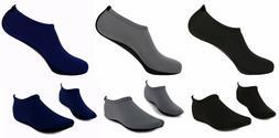 Mens Barefoot Water Skin Shoes Aqua Socks for Beach Swim Sur