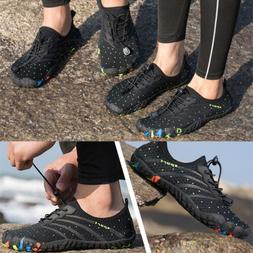 Mens Beach Barefoot Water Shoes Quick-Drying Sports Walking