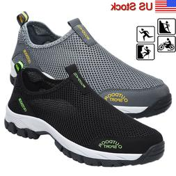 Mens Mesh Water Shoes Quick Dry Trekking Swim Surf Slip On A