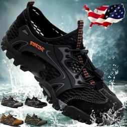 Mens Breathable Outdoor Climbing Water Shoes Hiking Non-slip