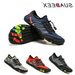 Mens Mesh Water Sport Shoes Breathable Surf Beach Trail Hiki