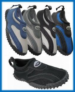 Men's Slip On Wave Water Shoes Aqua Socks Beach Exercise S