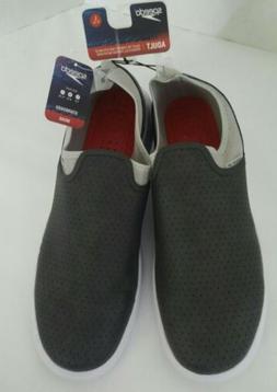 Mens Speedo Starboard Slip On Water Shoes Grey  Size L 11-12