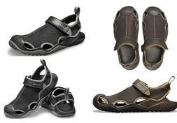 Men's CROCS Swiftwater Mesh Deck Water sandal shoes Black
