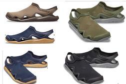 Men's CROCS Swiftwater Wave MESH Water Shoes Sandals Black