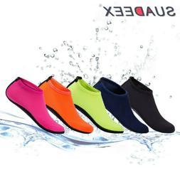 Mens Water Aqua Shoes Quick Dry Yoga Swim Surf Beach Skin We