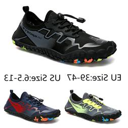 mens water shoes barefoot swim diving surf