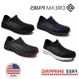 DREAM PAIRS Mens Water Shoes Beach Walking Shoes Slip On Out