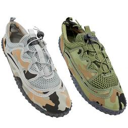 Men Water Shoes Quick Dry Sports Camo Army Aqua Socks Beach