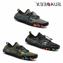 Mens Water Shoes Quick Dry Barefoot for Swim Aqua Diving Sur