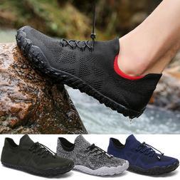 Mens Water Shoes Quick Dry Non-Slip Barefoot Beach Aqua Sock