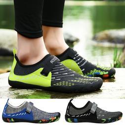 Mens Water Shoes Sport Skin Comfy Aqua Socks Yoga Pool Beach