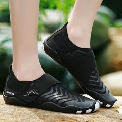 Mens Water Sports Aqua Shoes Quick-Dry Slip-on Swim Beach Ou