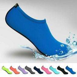 Mens Women Water Shoes Barefoot Aqua Socks Quick-Dry Beach S