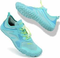 VIFUUR Mens Womens Aqua Shoes Quick Dry Water Shoes Outdoor,