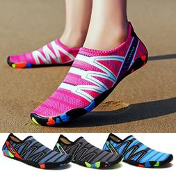 Mens Womens Unisex Water Shoes Barefoot Swim Diving Surf Aqu