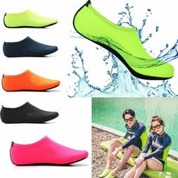 Mens Womens Water Shoes Barefoot Aqua Socks Quick-Dry Beach