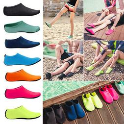 Men Women Water Shoes Barefoot Aqua Socks Quick-Dry Beach Sw