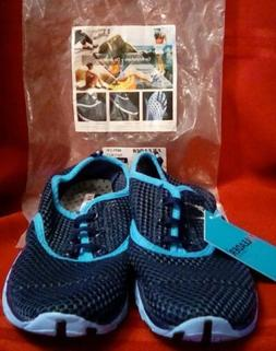 ALEADER Mesh Water Shoes  8859-1W Navy/Blue