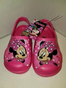 Minnie Mouse Toddler Girls Water Shoes Medium 9-10 Pink Sand