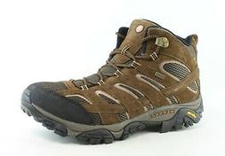 Merrell Men's Moab 2 Mid Waterproof Hiking Boot, Earth, 13 M