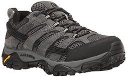 Merrell Men's Moab 2 Waterproof Hiking Shoe, Granite, 11.5 M