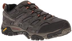 Merrell Men's Moab 2 Waterproof Hiking Shoe, Beluga, 11 M US