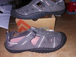 NEW $59 Womens JSport Jambu Regatta Water Shoes, size 11