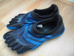 New Adidas Adipure Mens Sz 10 Blue Finger Toe Shoes Water Hi
