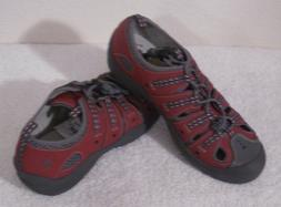 NEW Clarks Big Kids Closed Toe Water Shoes Sandals 5W Copper