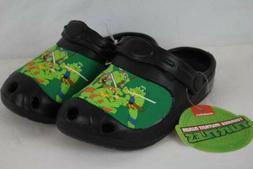 NEW Boys TMNT Medium 13 - 1 Clogs Ninja Turtles Water Shoes
