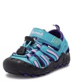 NEW Kamik Crab Girls Boys Waterproof Sport Sandal Shoe Teal