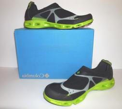 Columbia new Drainsock Men's Water Shoes sz 12 Black Lime NI