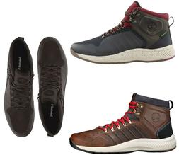 NEW Timberland Men's Flyroam Leather Trail Mid Water/Oil Res