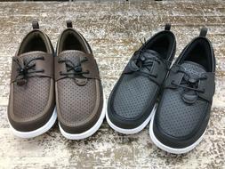 NEW Speedo Men's Port Water Shoe Slip-On Black or Brown - Si