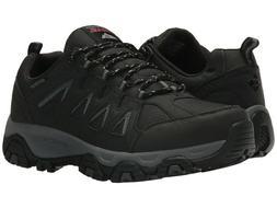 NEW Mens Skechers Terrabite Black Charcoal Water Resistant L