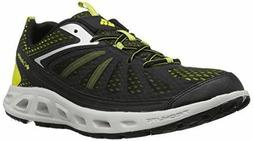 NEW COLUMBIA MEN'S Vent Master Water Shoes, Black/Zour