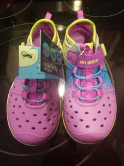 NEW Stride Rite OMBRE PHIBIAN SANDALS sz 9 Girls Water Shoes