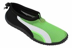 New Starbay Brand Men's Green Athletic Water Shoes Aqua Sock