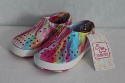 NEW Toddler Girls Water Shoes Medium 7 - 8 Pink Tie Dye Sand