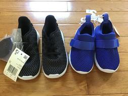 New w/ tags Adidas black sneakers & cat & jack toddler water