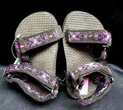 NEW PACIFIC REEF WATER SANDALS- Pink/Purple ADJUSTABL STRAP