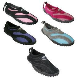 new womens slip on water shoes aqua