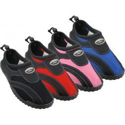 New Youth Boys Girls Slip On Water Shoes/Aqua Socks/Pool Bea