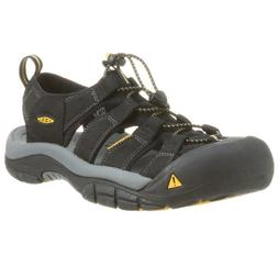 Keen Men's Newport H2 Sandal,Black,10 M US