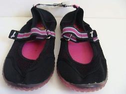 NWT Girls SPEEDO Water Shoes Size 4 5 Sport Sandals Beach Po